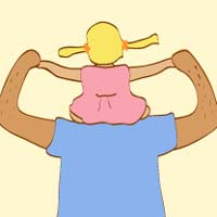 Thumbnail image for Dad's Shoulders
