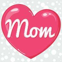 Thumbnail image for Polka Dot Mom Card