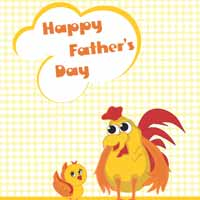 Thumbnail image for Rooster Papa Card