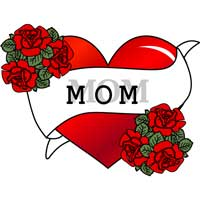 Thumbnail image for Roses and Mom Heart