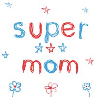 Thumbnail image for Super Mom Card